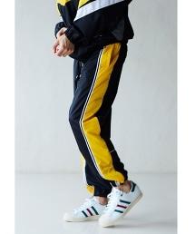 <monkey time> LINE TRACK PANTS/運動褲
