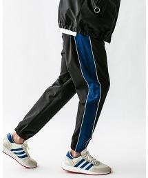 <monkey time> BACK/PIQUE TRACK PANTS/運動褲
