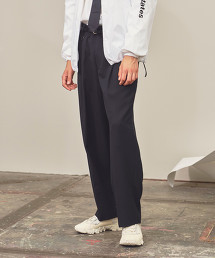 <monkey time> TW TWILL WIDE 2P PANTS/寬褲