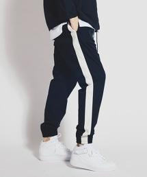 <monkey time>  LINE PE DROP JOGGER/束口褲
