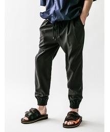 <monkey time>  PE TRO DROP JOGGER/錐形束口褲
