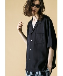 <monkey time> RAYON TWILL OPEN SHIRT/開領襯衫