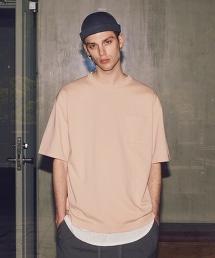 <monkey time> TC/PONTI 1POC 5SL CN/左前胸貼袋T恤