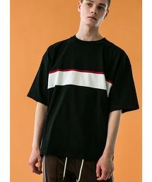 <monkey time>  MILANO RIB PANEL TEE/針織T恤