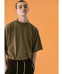 <monkey time> MILANO RIB MOCK TEE/針織T恤
