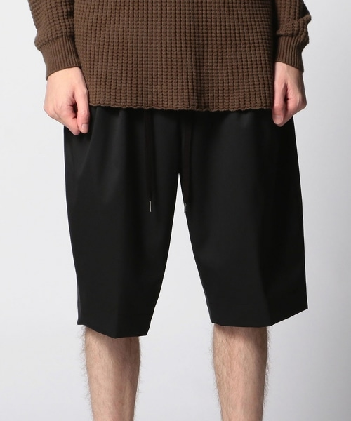 <monkey time>  TW/TWILL 6LEG WIDE SHORT/短褲