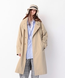 <monkey time> TC/NYLON WTHR OVER COAT/大尺碼外套