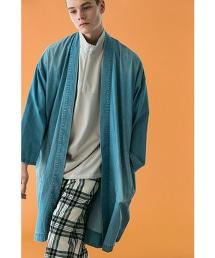 <monkey time> SV DENIM SAMUE COAT/和風大衣 作務衣