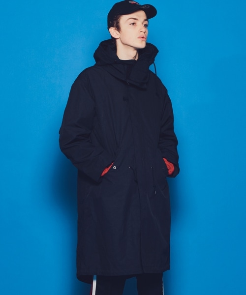 <monkey time> PE/N WEATHER QUILT LINER MODS/軍裝外套(MODS COAT)
