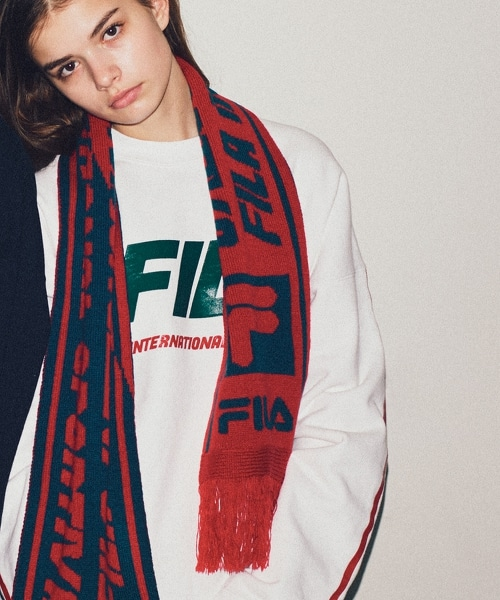 <FILA × monkey time> TEAM SCARF/圍巾