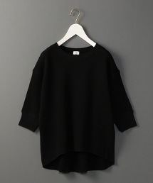 <6(ROKU)>THERMAL CREW NECK 6SLEEVE/發熱半袖圓領上衣