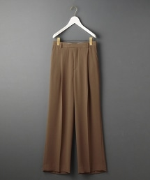<6(ROKU)>GEORGETTE HIGH WAIST PANTS/喬其紗高腰褲