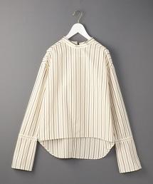 <6>STRIPE LONG CUFFS SHIRTS/襯衫