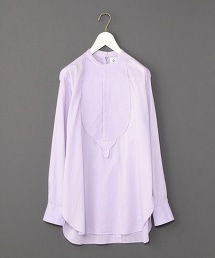 <6(ROKU)>COTTON DOBBY DYE SHIRT/緹花襯衫