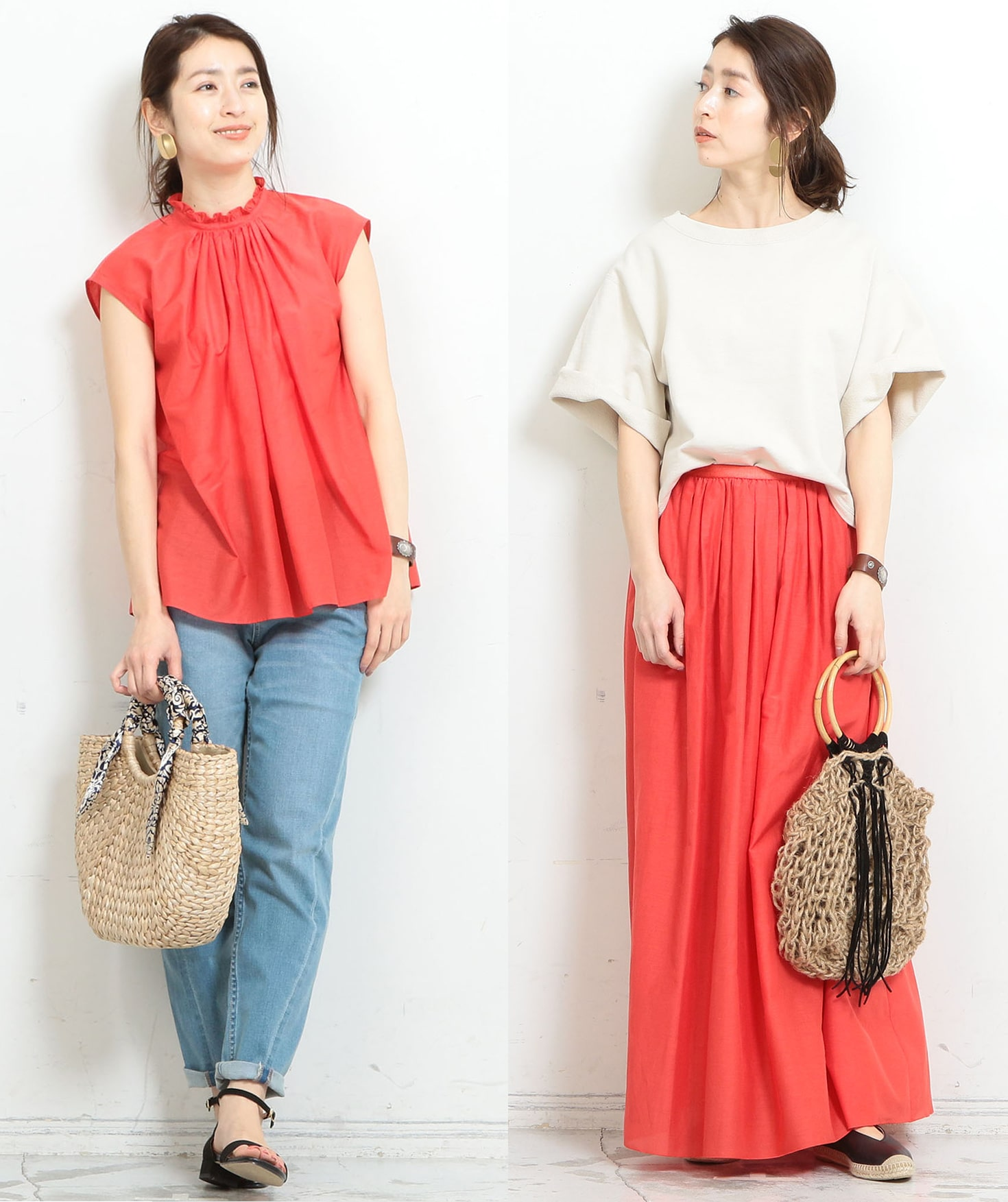 【BEAUTY&YOUTH】Airy Shirts & Skirts