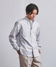 <UNITED ARROWS> 塔特紗爾格紋 釦領襯衫