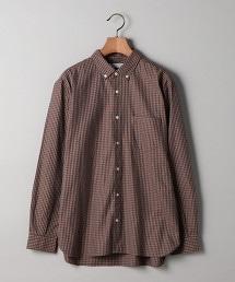 UAST 細格紋扣領襯衫