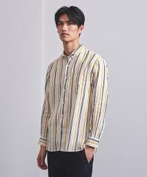 <UNITED ARROWS> 直條紋 標準領 襯衫 OUTLET商品