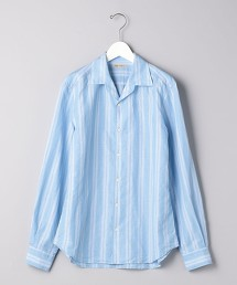 <SOVEREIGN>   C/LI/LY 直條紋 開領襯衫