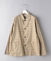 <UNITED ARROWS> 有機棉 工裝外套 襯衫