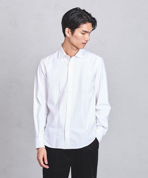 ○UASB 法蘭絨寬領襯衫