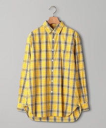UAST 格紋標準領襯衫