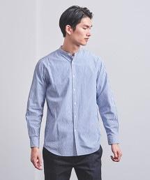 UASB 直條紋立領襯衫