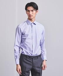 UADT 府綢 鉛筆直條紋 半寬角領襯衫