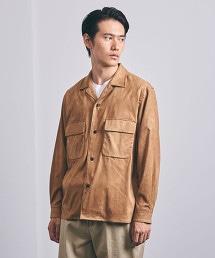 <UNITED ARROWS>2口袋襯衫式外套