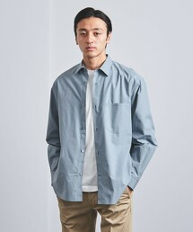 <UNITED ARROWS> 菲尼克斯棉 素色 標準領襯衫◆