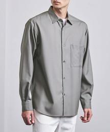 <UNITED ARROWS> 素色 標準領襯衫