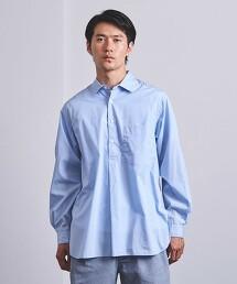 <UNITED ARROWS> 200/2 密紋平織 標準領罩衫