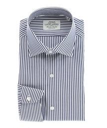 UADT 深藍倫敦直條紋襯衫