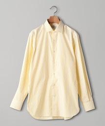 UADT 倫敦直條紋 寬角領襯衫