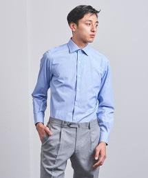 <UNITED ARROWS> 細直條紋半寬角領襯衫