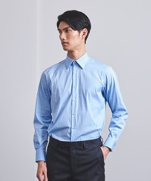 <UNITED ARROWS>  彈性 府綢 標準領襯衫 OUTLET商品