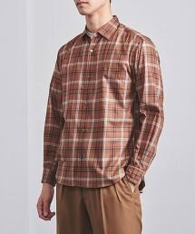 <UNITED ARROWS> 格紋標準領襯衫