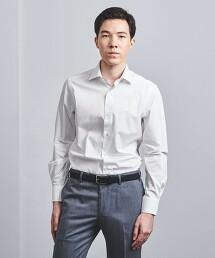 <SOVEREIGN> T/M 府綢 寬角領襯衫 日本製