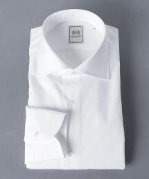 <SOVEREIGN> 府綢 寬角領襯衫 日本製