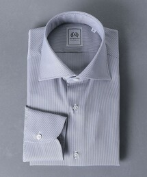 <SOVEREIGN> 細條紋 寬腳領 襯衫 日本製