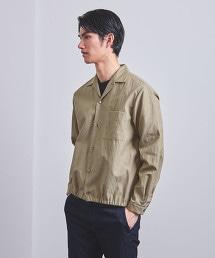 <UNITED ARROWS> 細褶襯衫式外套