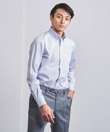 < UNITED ARROWS > EASY CARE TATTERSALL 釦領襯衫