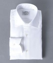 <UNITED ARROWS> EASY CARE 緹花 寬角領 襯衫 日本製