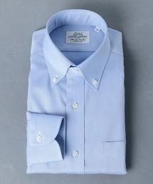 <UNITED ARROWS> EASY CARE 紗羅 釦領襯衫 日本製