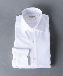 <UNITED ARROWS> EASY CARE 府綢 寬角領襯衫 日本製