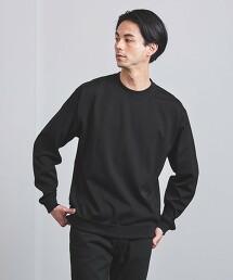 <UNITED ARROWS> 精梳絲光燒毛棉紗 長袖TEE 日本製