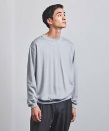 <UNITED ARROWS> AGING COTTON 輕薄衛衣 圓領上衣 日本製