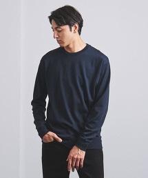 <UNITED ARROWS> 棉混羊毛圓領罩衫