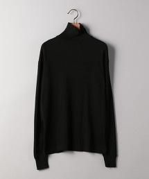 <UNITED ARROWS> 羊毛羅紋高領針織衫