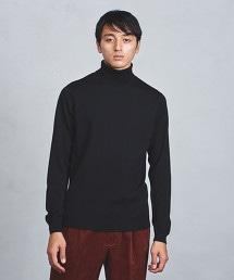 ○UASB 高密織高領毛衣